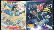 The Lucasarts Archives Vol. 1 and 2 STAR WARS COLLECTION Sealed Brand New