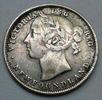 Canada. 20 Cents 1882H. VICTORIA