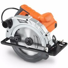 VonHaus 185mm Multi Purpose Circular Saw 1200W Dust Extraction Bevel Angle