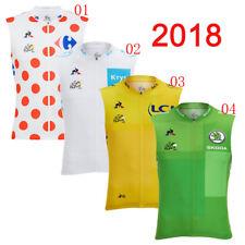 2018 Summer bike sleeveless Jersey cycling Vest men breathable team racing shirt