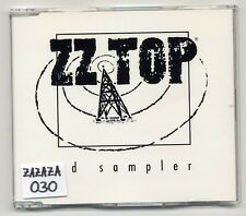 ZZ Top Maxi-CD CD Sampler (Pincushion) - 4-track promo CD - ZZ 001