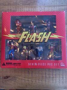 DC Direct The Flash 7 piece PVC Figure Set