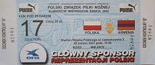 TICKET 28.3.2001 Polska Polen - Armenien