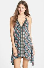 NWT- Nanette Lepore Paloma Swimsuit Cover-Up Halter Dress - Size Small