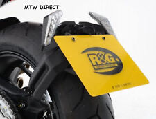 R&G RACING BLACK  TAIL TIDY / LICENCE PLATE HOLDER MV Agusta Dragster 800 (2014)