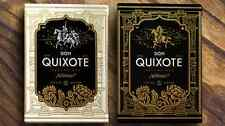 Don Quixote Volume 1 - 2 Deck Set Playing Cards Poker Size LPCC Custom Limited