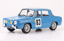 Coche Rally RENAULT 8 GORDINI #83 - Rally Tour de Corse 1966 -J.- F. PIOT (1/18)