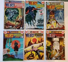 DC COMICS BRONZE AGE WEIRD WESTERN TALES No.12,13,14,15,16,17 (6 issues)  VF