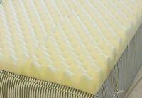 4 inch Foam Twin Bed Pad Mattress Convoluted Egg Crate / 72 L X 34 W X 4 Inch