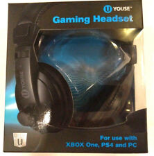 New U YOUSE GAMING HEADSET XBOX ONE PS4 AND PC With Mic