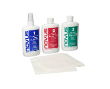 NOVUS 1, 2, 3 Plastic Polish Kit - 8oz Scratch Remover Cleaner BEST VALUE !!!