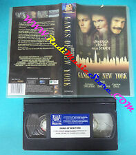 film VHS GANGS OF NEW YORK 2003 di caprio day lewis diaz 20th CENTURY(F3*)no*dvd