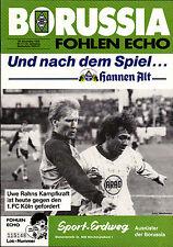BL 86/87 Borussia Mönchengladbach - 1. FC Köln, 29.11.1986, Uwe Rahn