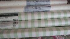 "Lot Wallpaper Vinyl Roll 20.5"" wide X 10.9 yards 3 rolls Plus 2 other new Look"