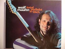 """Wolf Maahn   Total verliebt in Dich   5"""" Maxi-CD   2 Tracks   1992  ultra rar!!!"""
