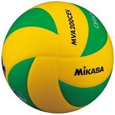 NEW Mikasa MVA200CEV volleyball No.5 European League Match Ball yellow/green