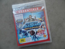 PS3 PLAYSTATION ALL-STARS Battle Royale ESSENTIALS - BRAND NEW - SEALED