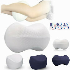 Knee Pillow Memory Foam Orthopedic Leg Hip Support Cushion For Side Sleepers