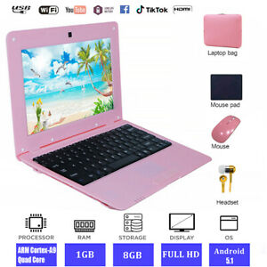 """Fast Cheap 10.1""""Laptop Andriod ACTIONS S500 1.5GHz PC 8GB ROM SSD WiFi USB HDMI"""