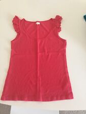 2 X Size 14 Pink Coral Summer Tops New Look & Miso