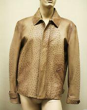 $10,500 New GUCCI Rare Runway Men's Ostrich Coat Jacket EU 60 US 50 246652 2383
