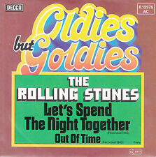 """ROLLING STONES  Let's Spend The Night Together & Out Of Time 7"""" 45 NEW RARE"""