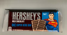 HERSHEYS MILK CHOCOLATE DC Comics SUPER HERO Limited Edition Superman Ships Fast