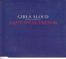 GIRLS ALOUD Can't Speak French 2008 UK 1-track promo CD