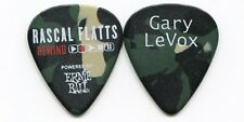 Rascal Flatts 2014 Rewind Tour Guitar Pick! Gary LeVox custom concert stage