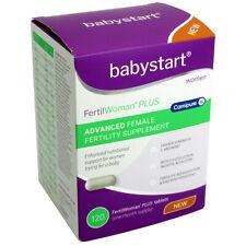 Babystart FertilWoman PLUS Advanced Female Fertility Supplement – 120 Tablets