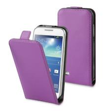 Cover Custodia Lusso (PELLE SOTTILE VIOLA) ~ Samsung Galaxy S5 / SM-G900F