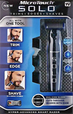 NEW SOLO MicroTouch Men's Rechargeable Full Body Hair Trimmer Shaver and Groomer