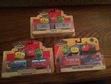 Chuggington Wood Trains Lot #418 Emery Winter Wonder Brewster Chug Patrol Wilson