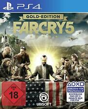 PS4 Gioco Far Cry 5 Gold Edition Versione Tedesca Merce Nuova