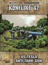 US TESLA ANTI-TANK GUN - KONFLIKT 47 - WARLORD GAMES -SENT 1ST CLASS