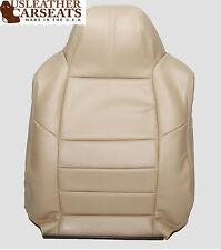 2008 Ford F250 Lariat Leather Driver Lean Back Seat Cover Camel TAN
