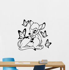 Bambi Deer Wall Decal Disney Vinyl Sticker Nursery Decor Baby Poster Art 192hor