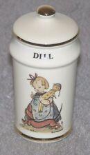 Mj Hummel Japan Dill Spice Jar w/ Lid - Switzerland 1987