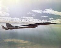XB-70 / XB-70A VALKYRIE B-58 FLIGHT TEST 8x10 SILVER HALIDE PHOTO PRINT