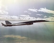 XB-70 / XB-70A VALKYRIE B-58 FLIGHT TEST 8x10 SILVER HALIDE PHOTO PRINT