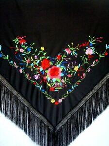 Flamenco Shawl triangle shaped