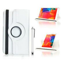 """Leather 360 Case For Samsung Galaxy Tab Pro 8.4"""" 10.1"""" 12.2"""" SM-T320 T520 T900"""
