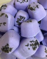 10 Lavender Bath Bomb Fizzers. Perfect gifts or bathtime treats.