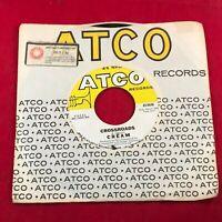 "CREAM Crossroads 1969 USA 7"" vinyl single EXCELLENT CONDITION 45 eric clapton"