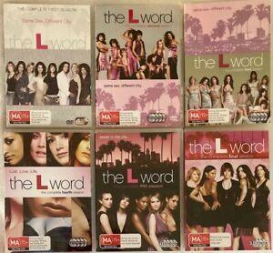 The L Word : Season 1 - 6 Complete Series Lesbian (DVD, 2007, 23-Disc Set)
