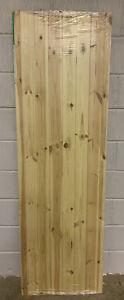 "LPD Ledged & braced Redwood External Back Door,(78""x24""x40mm),Brand New,(193)."