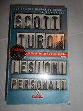 LESIONI PERSONALI SCOTT TUROW MONDADORI libro letteratura e narrativa offerte
