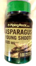 Asparagus Young Shoots Extract 600Mg 100 Pills Capsules