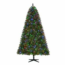 New Home Accents Holiday 7.5' Pre-lit LED Wesley Pine Christmas Tree