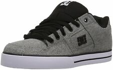 DC Shoes Pure Tx Se Men's Skate Shoe (Heather Grey / Men's / 8.5 U.S Size)